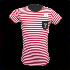 Girls Stripe Pocket Tee - Youth