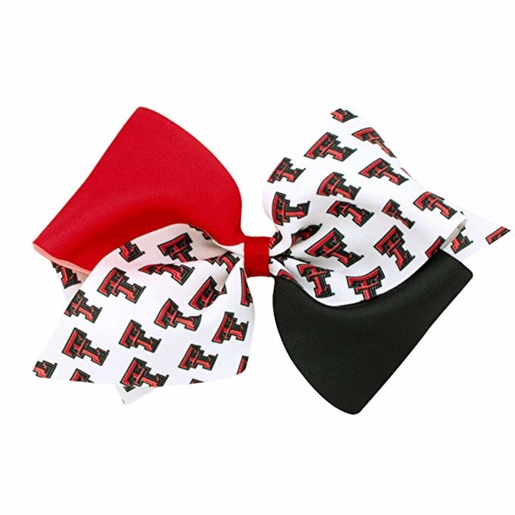 King College Print Bow