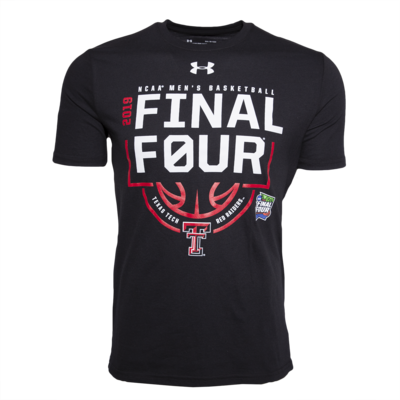 Under Armour Final Four Double T Logo Below Basketball Short Sleeve