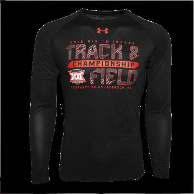 Big 12 Track & Field Long Sleeve Tee