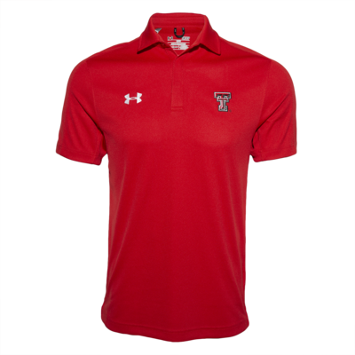 UA Huddle Polo Red