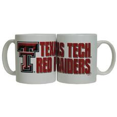 Texas Tech Red Raiders Coffee Mug White