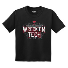 2019 Saddle Up Wreck Em Youth Short Sleeve Tee