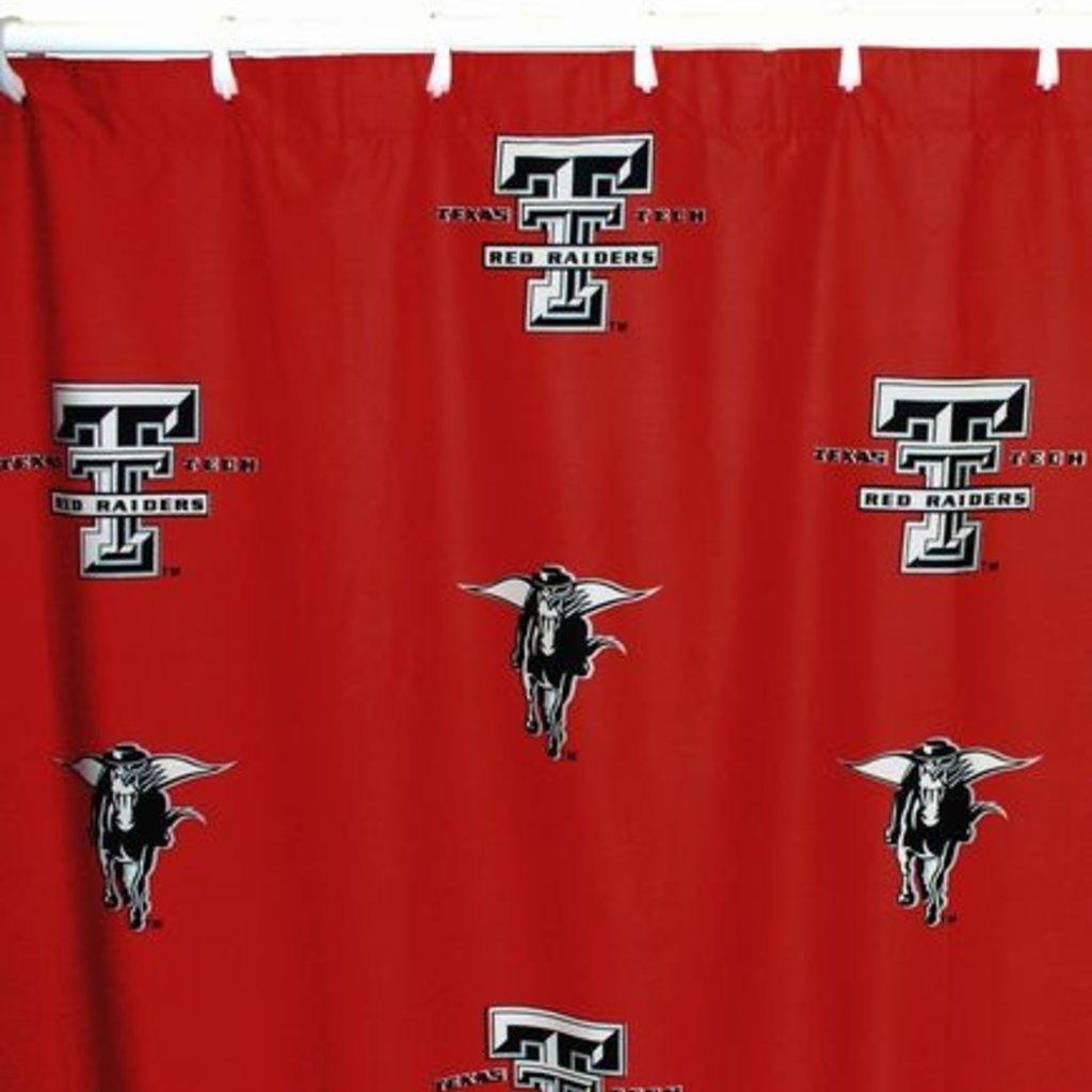 "Texas Tech Shower Curtain 70"" x 72"""