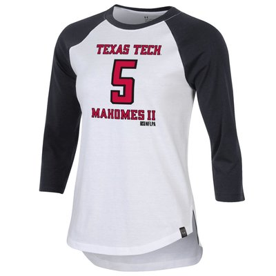 Under Armour Ladies Mahomes Baseball Tee