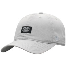 Top of the World Ante Grey Chambray Woven Label Cap