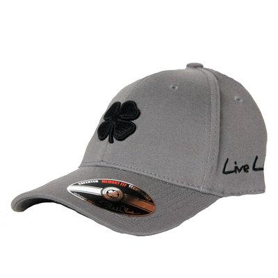 Live Lucky Grey Black Clover Cap