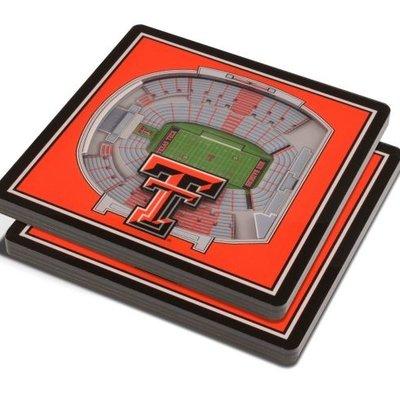3D Stadium View Coaster - Set of 2