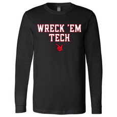 Block Wreck em Hand Long Sleeve Tee