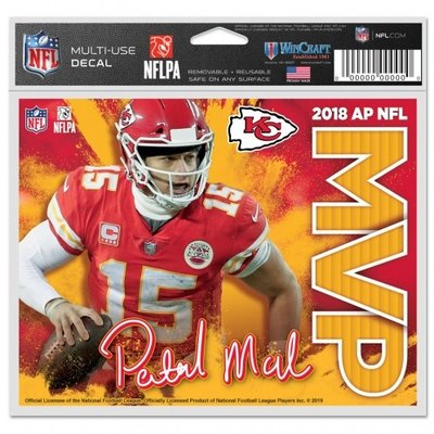 Mahomes MVP KC Multi-Use Decal