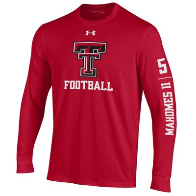 Under Armour Performance Cotton Mahomes FB Long Sleeve Tee