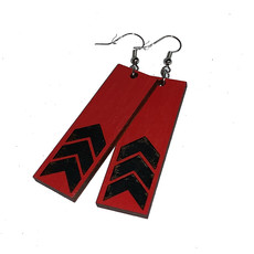 Simply Cam Co Arrow Laser Dangle Earring