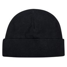 Youth Cuffed Knit Beanie - Black