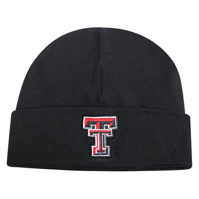 Youth Cuffed Knit Beanie - Black