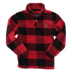 Youth 1/4 Zip Sherpa Jacket