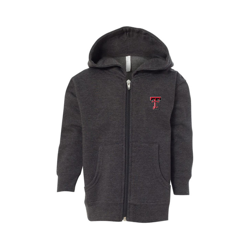 Toddler Full Zip Fleece Hoodie