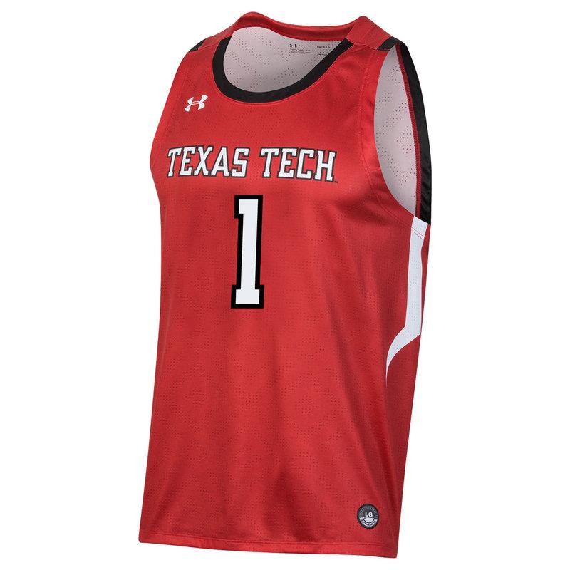 Texas Tech Replica Basketball Jersey # 1