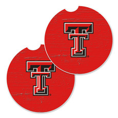 Double T Car Coaster Two Pack - Red
