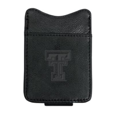 Black Leather Magnetic Money Clip