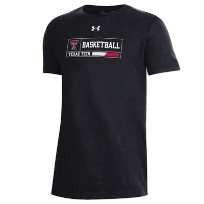 Youth Basketball Outline Box Short Sleeve Tee