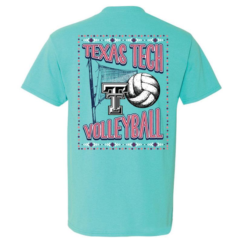 Volleyball Sketch Short Sleeve Tee