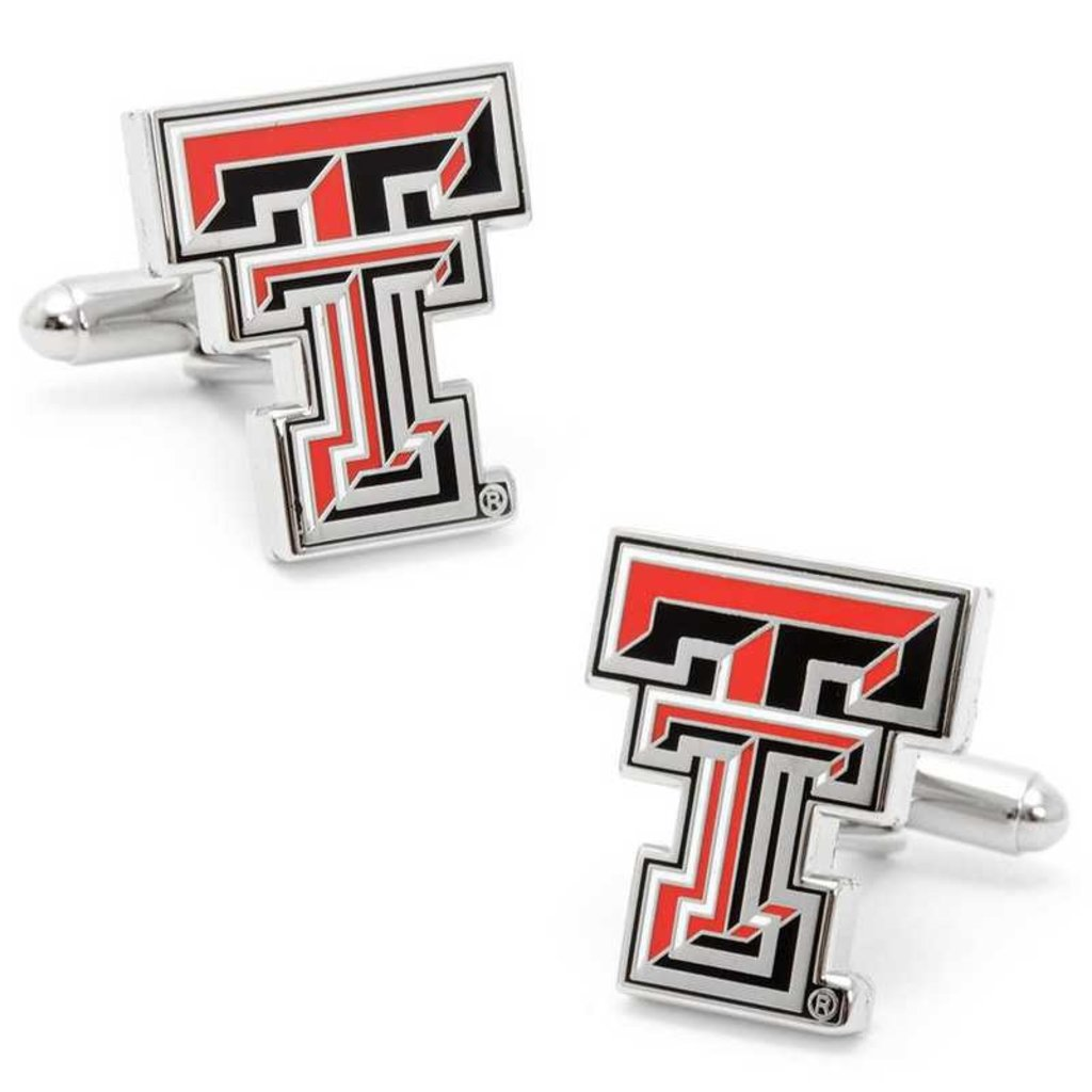 Cuff Links Set w/ Colored Double T