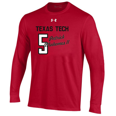 Performance Cotton Mahomes II No. 5 Long Sleeve Tee