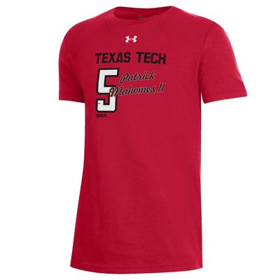 Under Armour Mahomes II No. 5 Youth Short Sleeve Tee