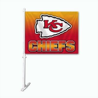 Kansas City Ombré Car Flag