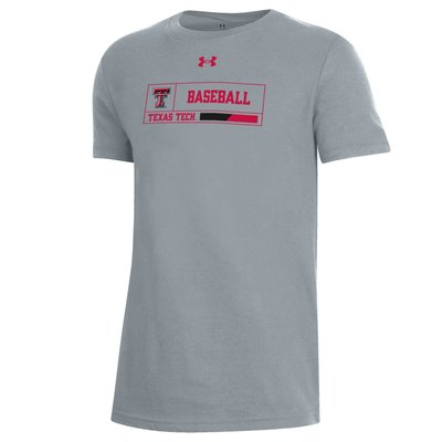 Youth Baseball Outline Box Short Sleeve Tee