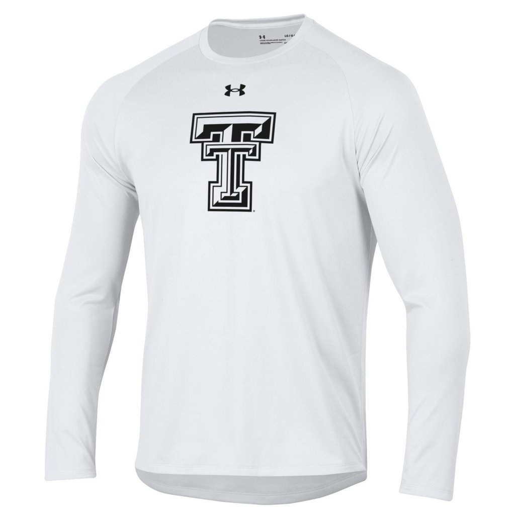 Under Armour Tech Tee All Black Double T Long Sleeve