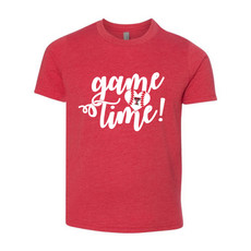 Baseball Girls Game Time Short Sleeve Tee