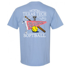 Softball Pennant Short Sleeve Tee