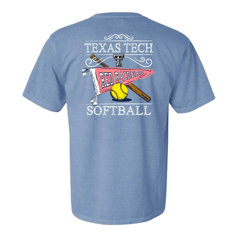 Softball Pennant Youth Short Sleeve Tee
