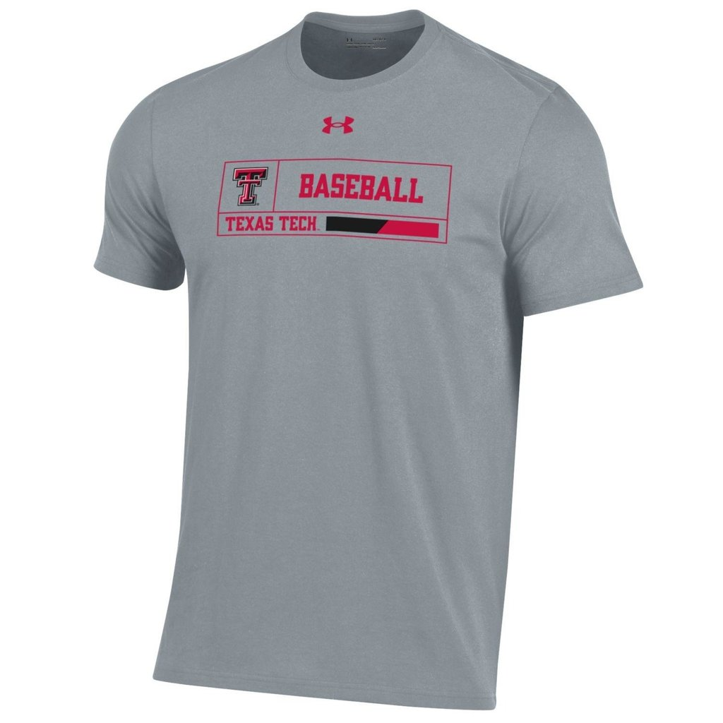 Under Armour Youth Baseball Outline Box Short Sleeve Tee