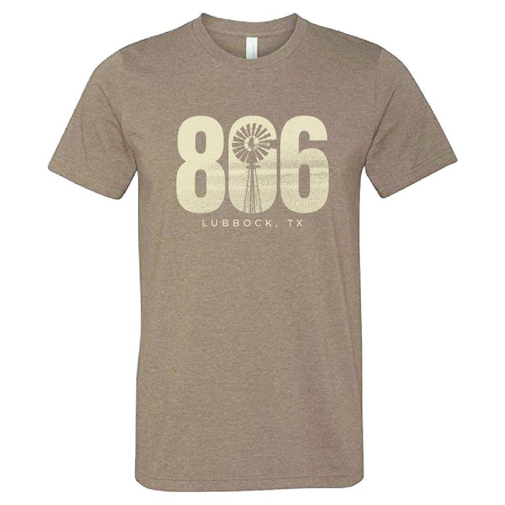 806 Lubbock Windmill Short Sleeve Tee