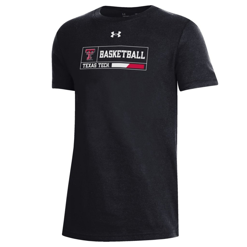 Under Armour Youth Basketball Outline Box Short Sleeve Tee