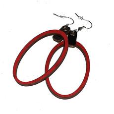 Simply Cam Co Thin Oval Dangle Earrings