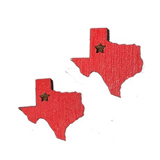 Simply Cam Co Texas Stud Earring