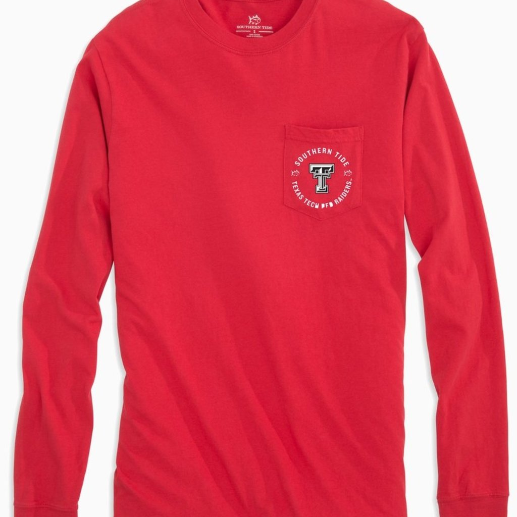 Southern Tide Basketball Practice Long Sleeve Tee