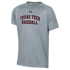 Under Armour Baseball College Block Youth Short Sleeve Tech Tee