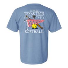 Softball Pennant Youth Short Sleeve Tee