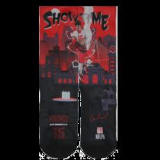Mahomes Showtime Socks Size Med/Large