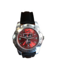 Anochrome Sport 2 Black Leather Band Watch