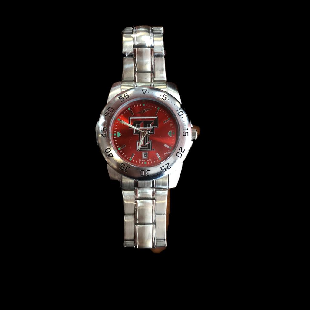 Anochrome Steel Band Watch
