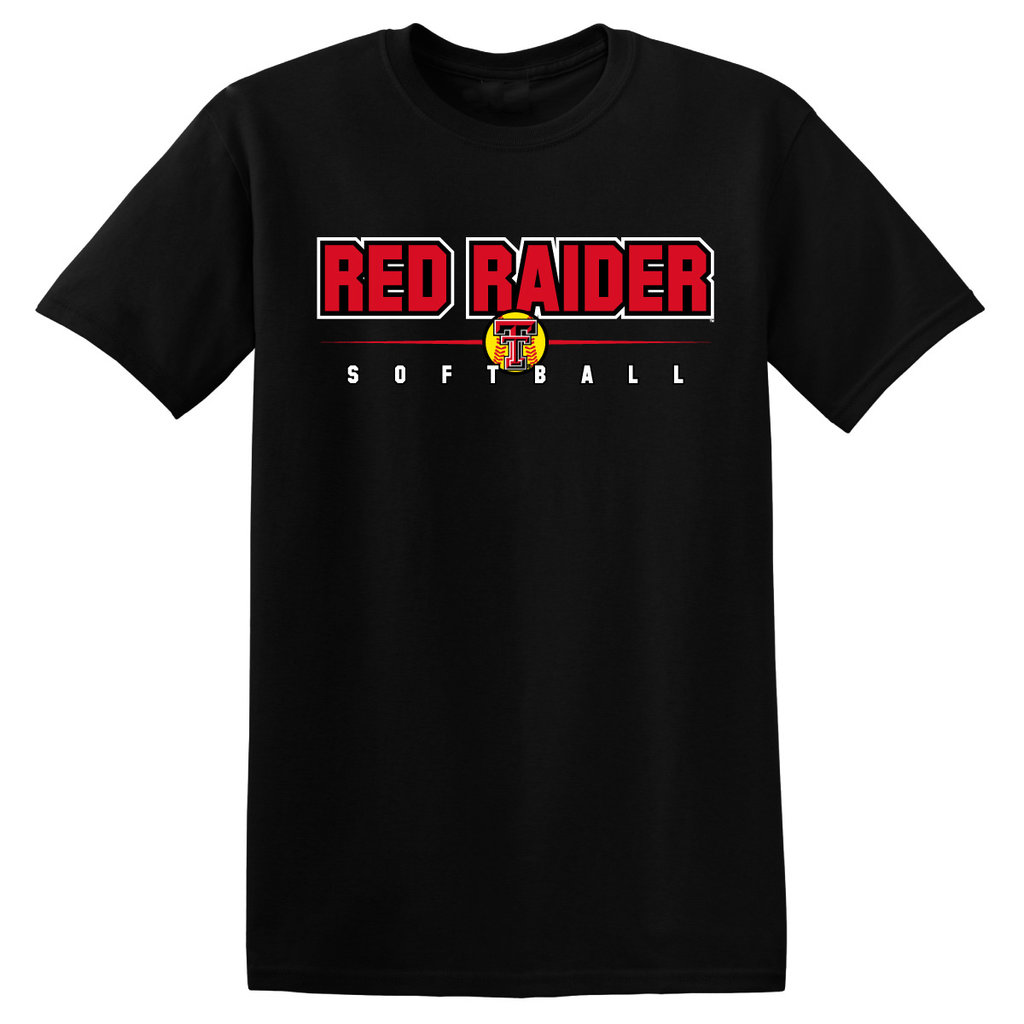 Red Raider Softball Short Sleeve Tee