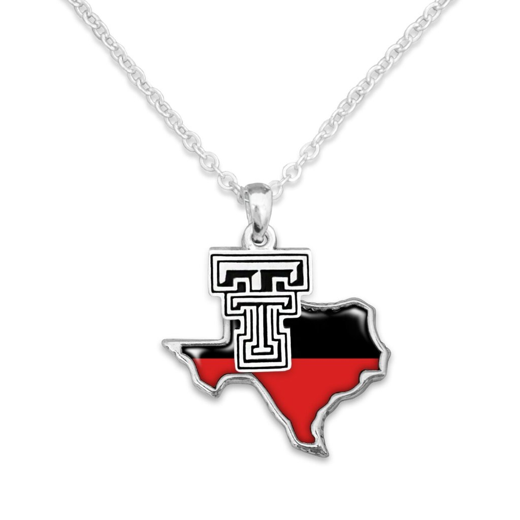 Tara Red & Black Texas Necklace