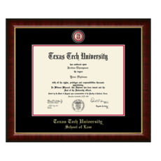 School of Law Masterpiece Diploma Frame - $299.95