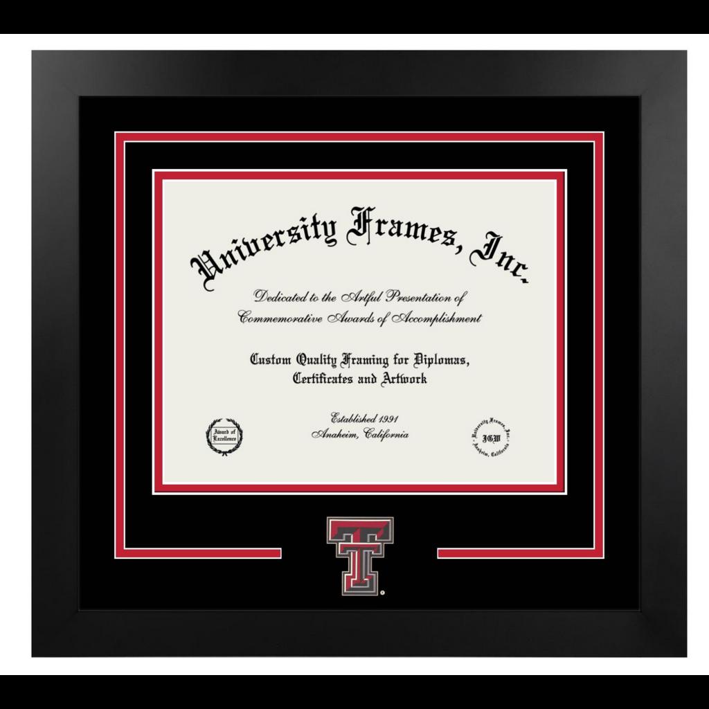 Classic Ebony & Silver Diploma Frame -$219.95