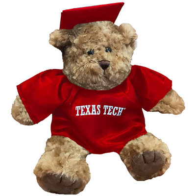 Grad Teddy Bear Red